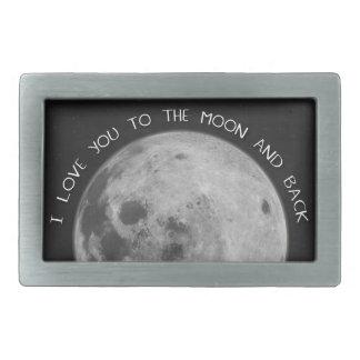 Jag älskar dig till månen och drar tillbaka Starry
