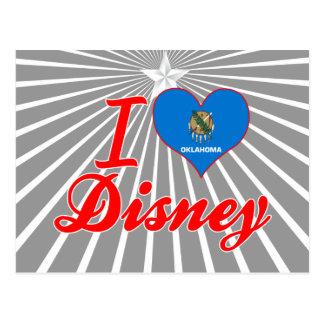 Jag älskar Disney, Oklahoma Vykort