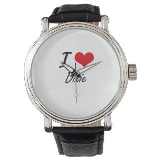 Jag älskar Dixie Armbandsur