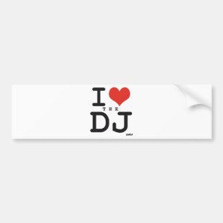 Jag älskar DJEN Bildekal