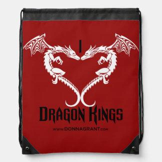 Jag älskar drakekungar hänger lös gympapåse