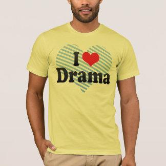Jag älskar drama t shirt
