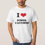 Jag älskar driver av advokat t-shirt