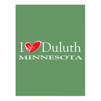 Jag älskar Duluth Minnesota Vykort