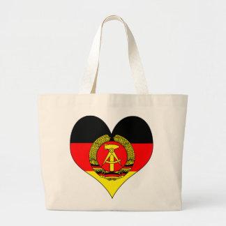 Jag älskar East Germany Tygkasse