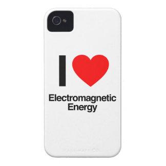 jag älskar elektromagnetisk energi iPhone 4 skal