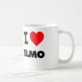 Jag älskar Elmo Kaffemugg