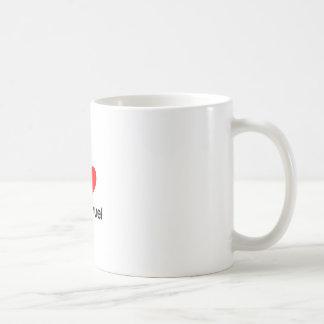 jag älskar emmanuel kaffemugg