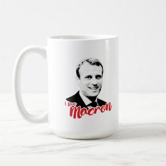 Jag älskar Emmanuel Macron - Kaffemugg