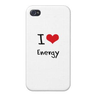 Jag älskar energi iPhone 4 fodral