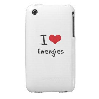 Jag älskar energier Case-Mate iPhone 3 cases