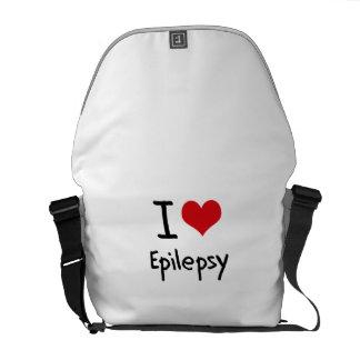 Jag älskar epilepsi kurir väskor