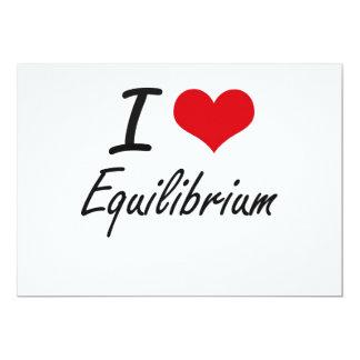 Jag älskar Equilibrium 12,7 X 17,8 Cm Inbjudningskort