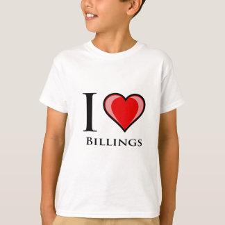 Jag älskar faktureringar t shirts