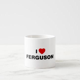Jag älskar Ferguson Missouri Espressomugg