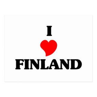 Jag älskar Finland Vykort