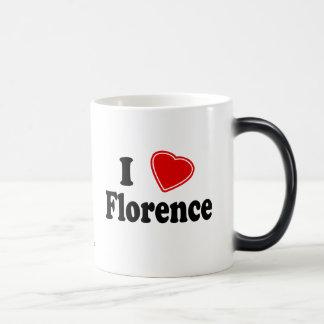 Jag älskar Florence Magisk Mugg