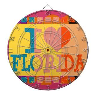 Jag älskar Florida - popkonst Darttavla