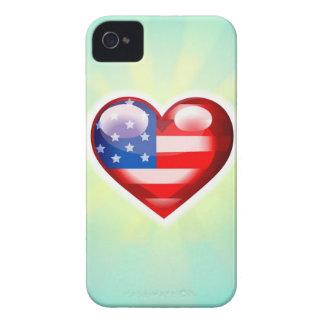 Jag älskar fodral för Amerika iPhone 4 iPhone 4 Cover