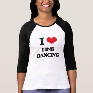Jag älskar fodrar dans tee shirt
