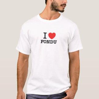 Jag älskar FONDU Tröja