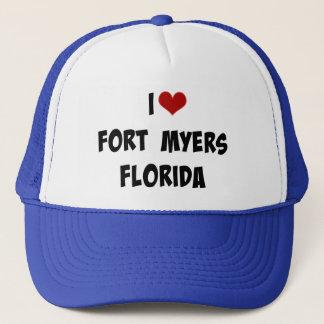 Jag älskar Fort Myers, Florida Truckerkeps