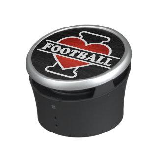 Jag älskar fotboll bluetooth speaker