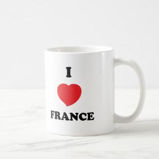 JAG ÄLSKAR frankriken Kaffemugg