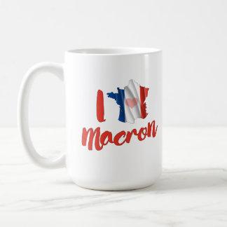 Jag älskar fransk Macron - Kaffemugg