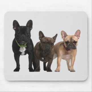 Jag älskar franska bulldoggar musmatta