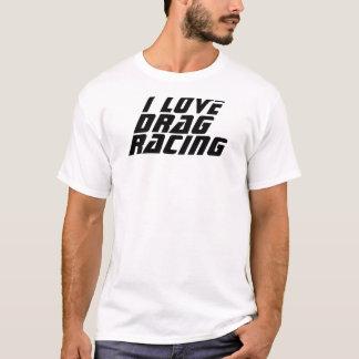 Jag älskar friktionstävla tee shirt