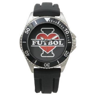 Jag älskar Futbol Armbandsur