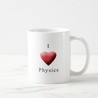 Jag älskar fysik kaffemugg