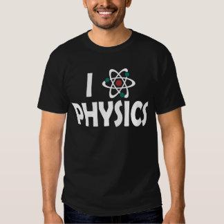 Jag älskar fysik tee