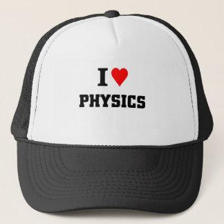 Jag älskar fysik truckerkeps