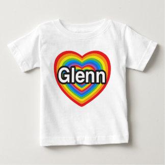 Jag älskar Glenn. Jag älskar dig Glenn. Hjärta Tshirts