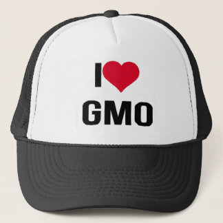 Jag älskar GMO Truckerkeps