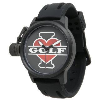 Jag älskar Golf Armbandsur
