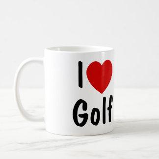Jag älskar Golf Kaffemugg