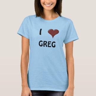 Jag älskar Greg Tee Shirt