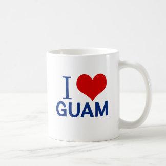 Jag älskar Guam Kaffemugg