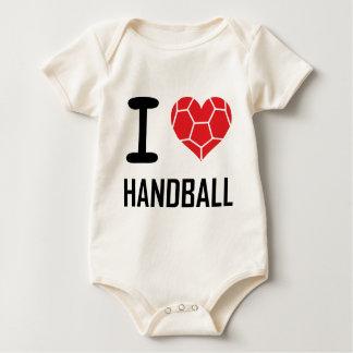 Jag älskar handboll krypdräkt