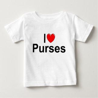 Jag älskar handväskor (för hjärta) t-shirts