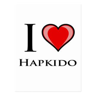 Jag älskar Hapkido Vykort