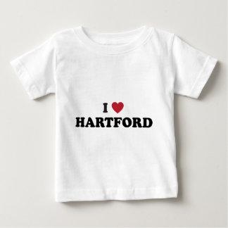 Jag älskar Hartford Connecticut Tröjor