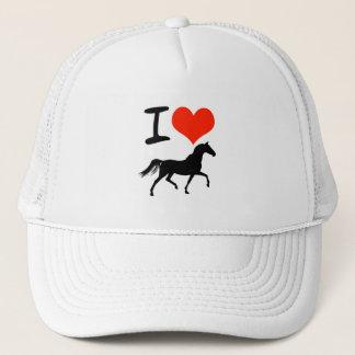 Jag älskar hästar keps