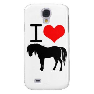 Jag älskar hästen galaxy s4 fodral