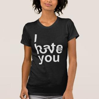 Jag älskar/hat dig tshirts