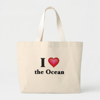 Jag älskar hav tote bag