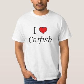 Jag älskar havskatten t shirt